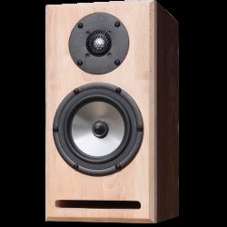 Uitgefreesde houten luidspreker